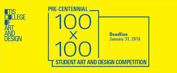 100x100 Student Art and Design Competition