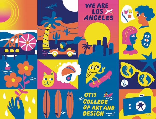 Otis College Admissions Viewbook Poster by Daisy Rosas