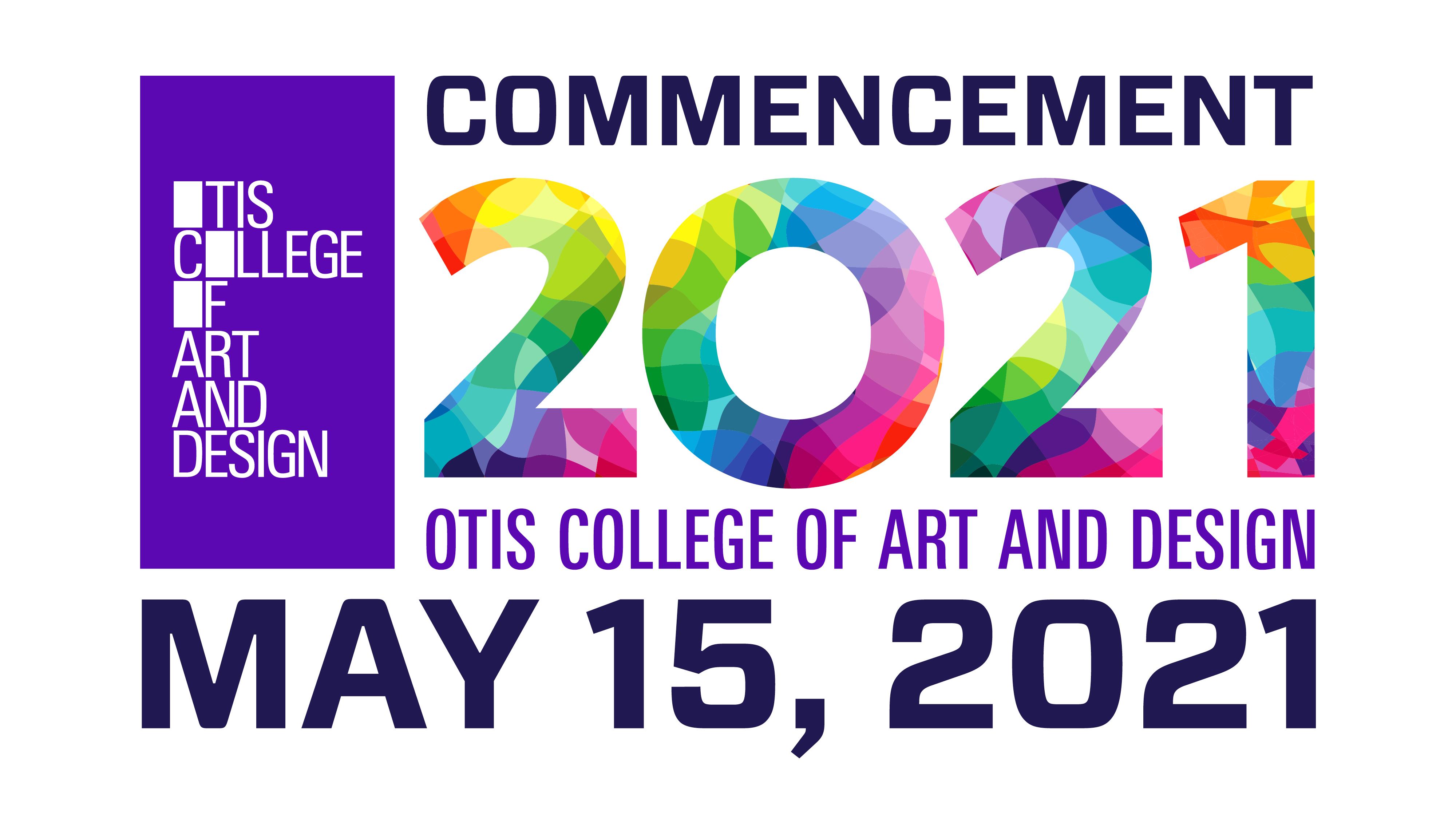 Video of Otis College's 2021 commencement ceremony