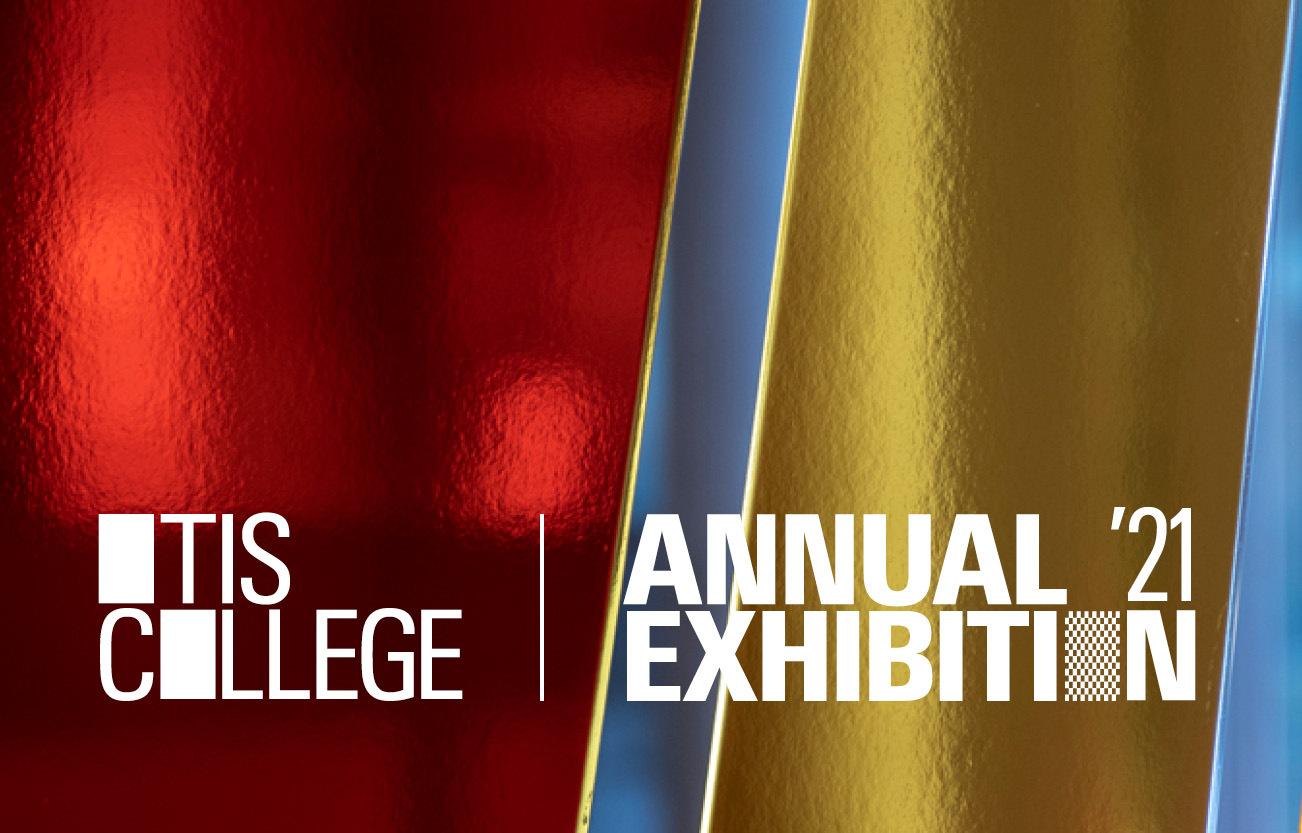 Otis College Annual Exhibition 2021 graphic