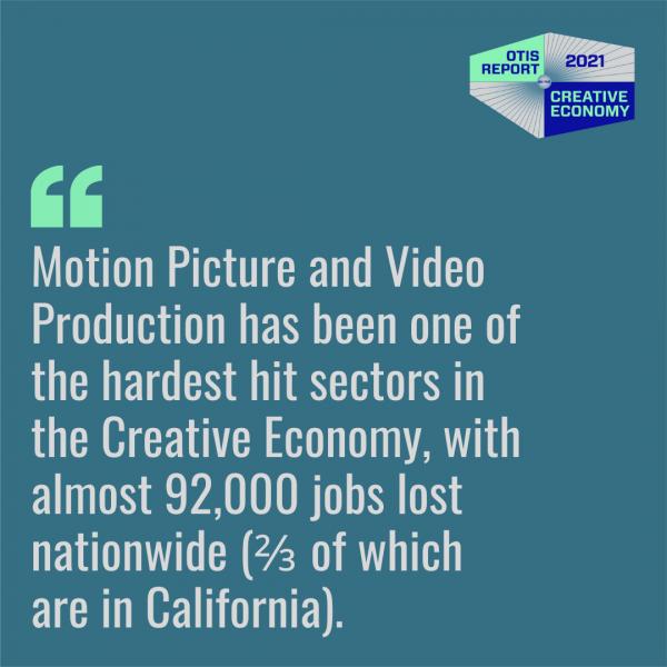 2021 Otis College Report on the Creative Economy