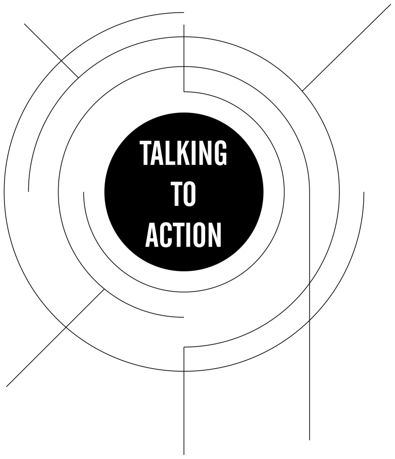 Talking to Action Logo