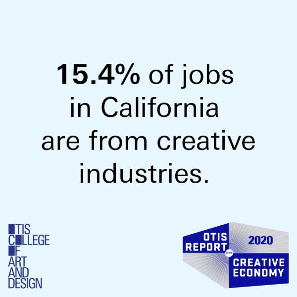2020 Otis Report on the Creative Economy data