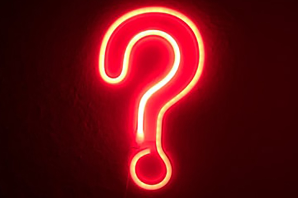 Question mark for FAQs