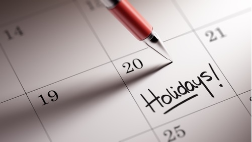 Holiday Calendar Image