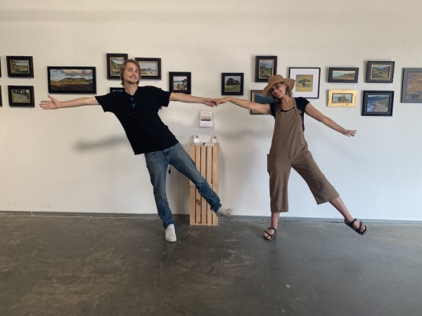 Duo show of Williams and Mogilka