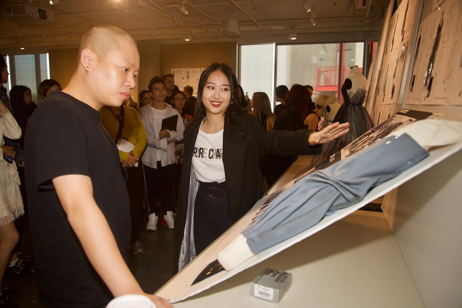Sr. Mentor Jason Wu Sketch Selection