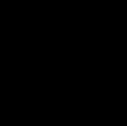 KCRW logo, media sponsor for the 100% Festival