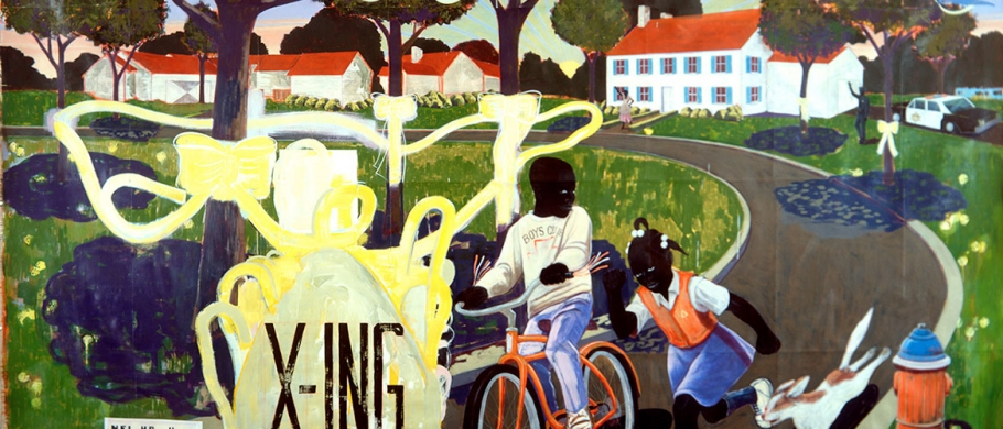 Image: Our Town, 1995 Kerry James Marshall