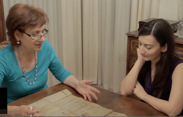 A scene from 100 Years from Home documentary on PBS.