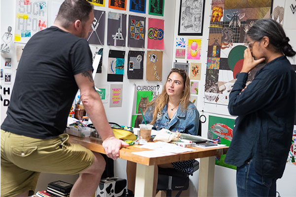 MFA Graphic Design Faculty