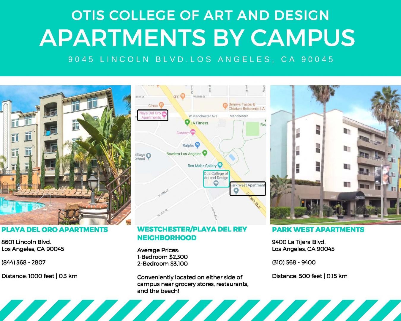 Apartments near campus