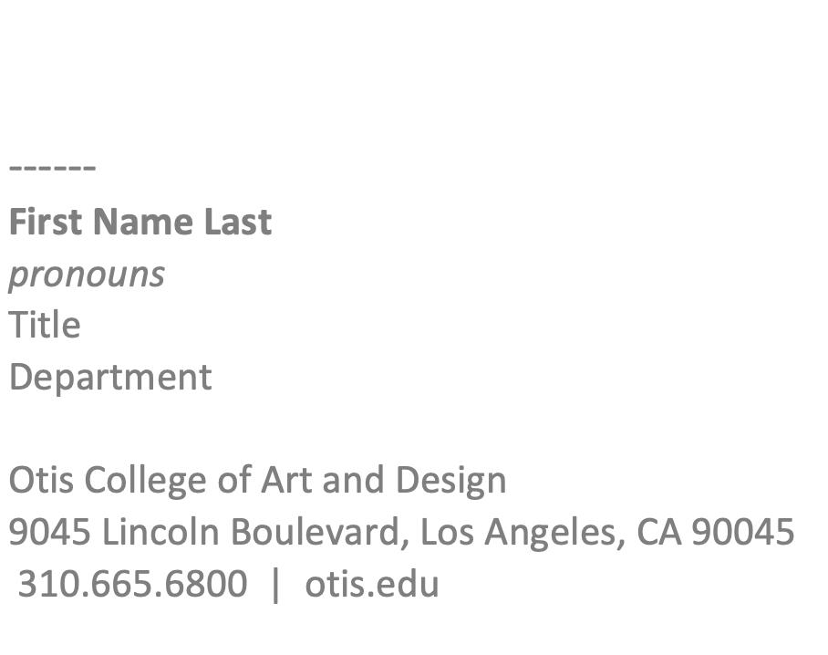 Otis is Essential Email Signature Template