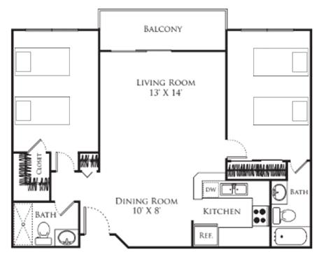 Park West layout