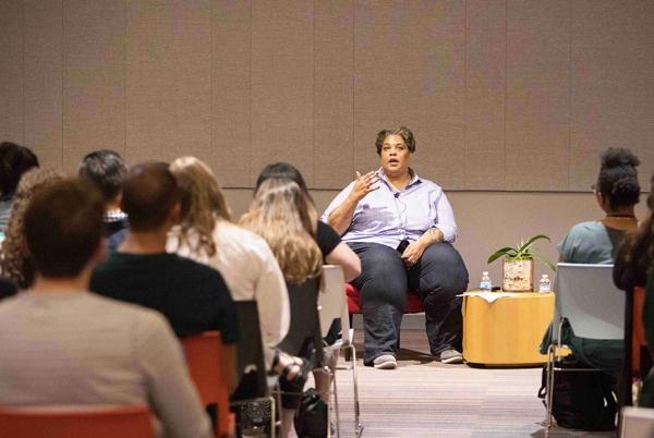 Writer Roxane Gay at Otis College
