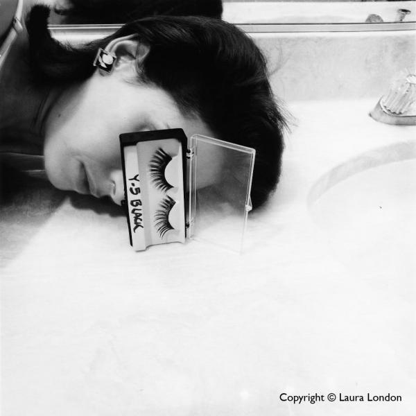 """Cosmetic Ritual Series, 1992"" by Laura London"