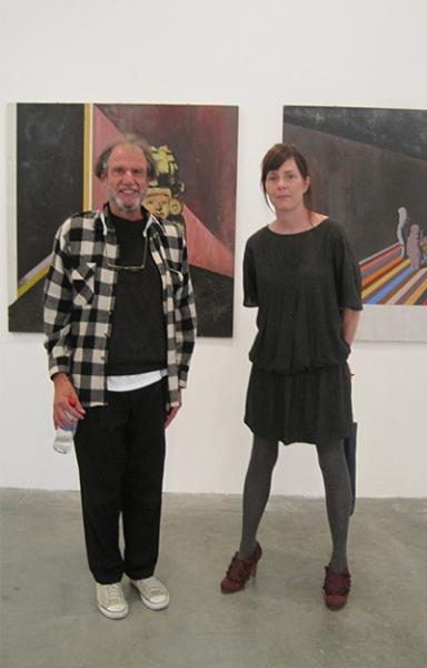 Michael Schrier with Meg Cranston