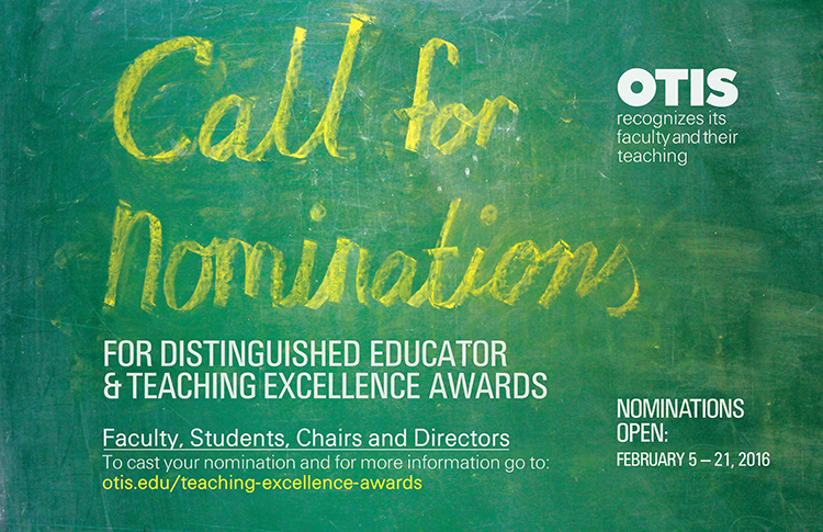 Teaching Excellence Awards - Call for Nominations 2016