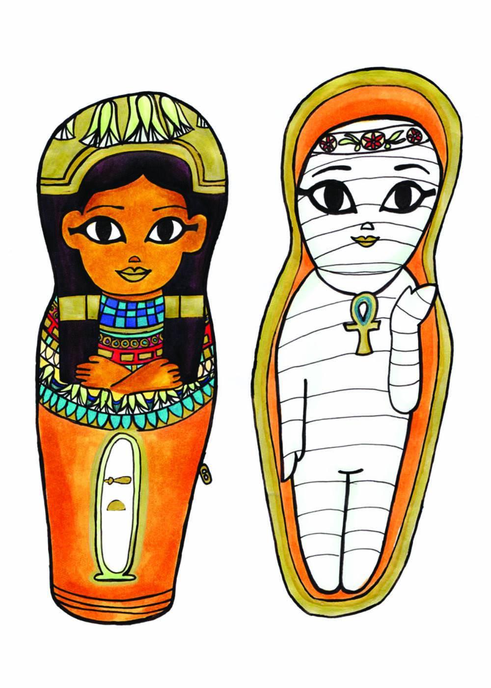 Mysterious Mummies: Aat - Illustration Marker