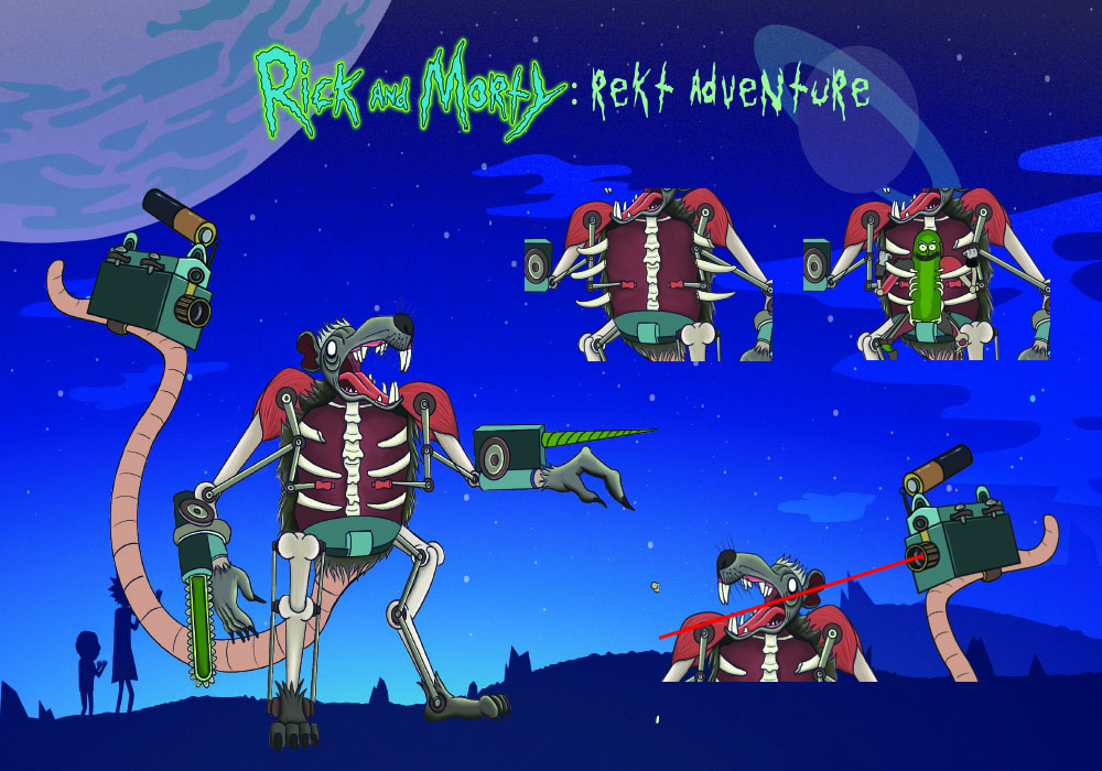 Rick and Morty: Reckt Adventure