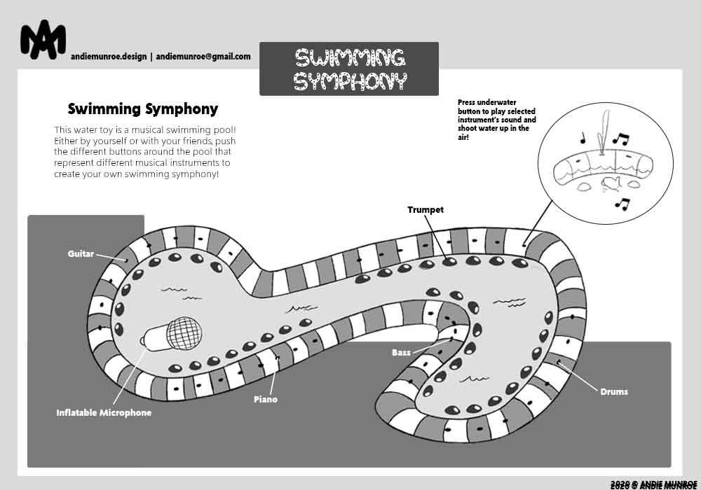 Swimming Symphony Water Toy