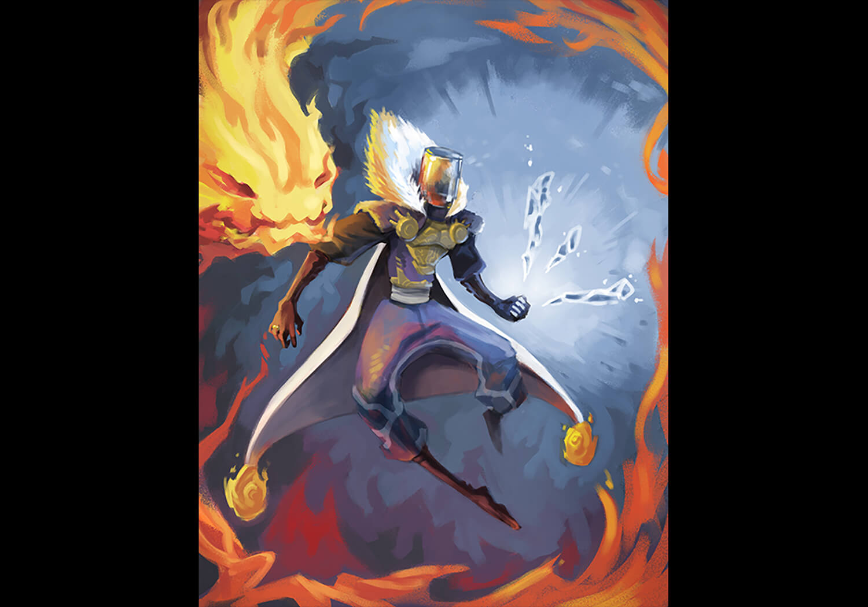 Character Design Kawan the Mindless Lost Heroes