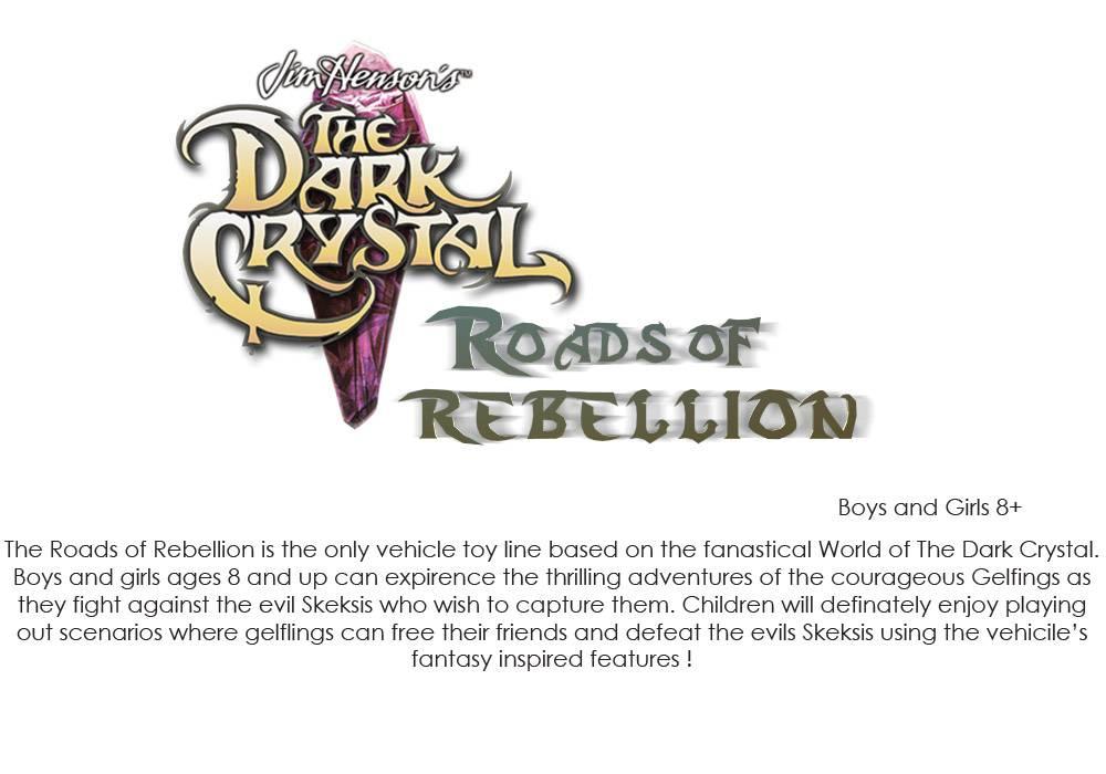 The Dark Crystal: Roads of Rebellion positioning statement