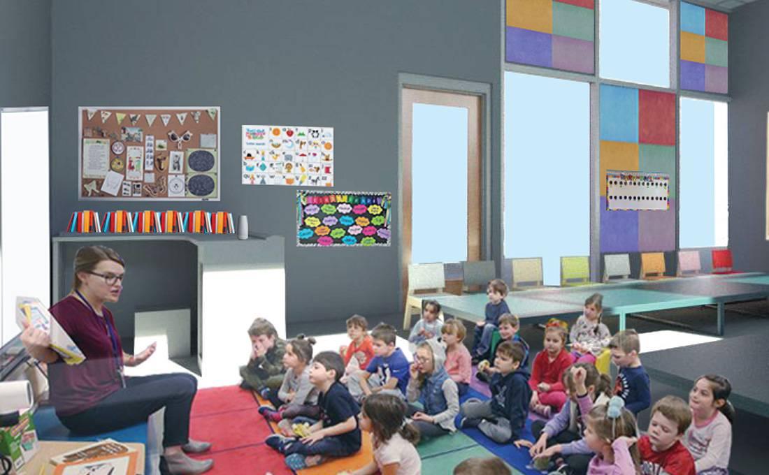 Los Angeles Broadway Elementary School - Classroom