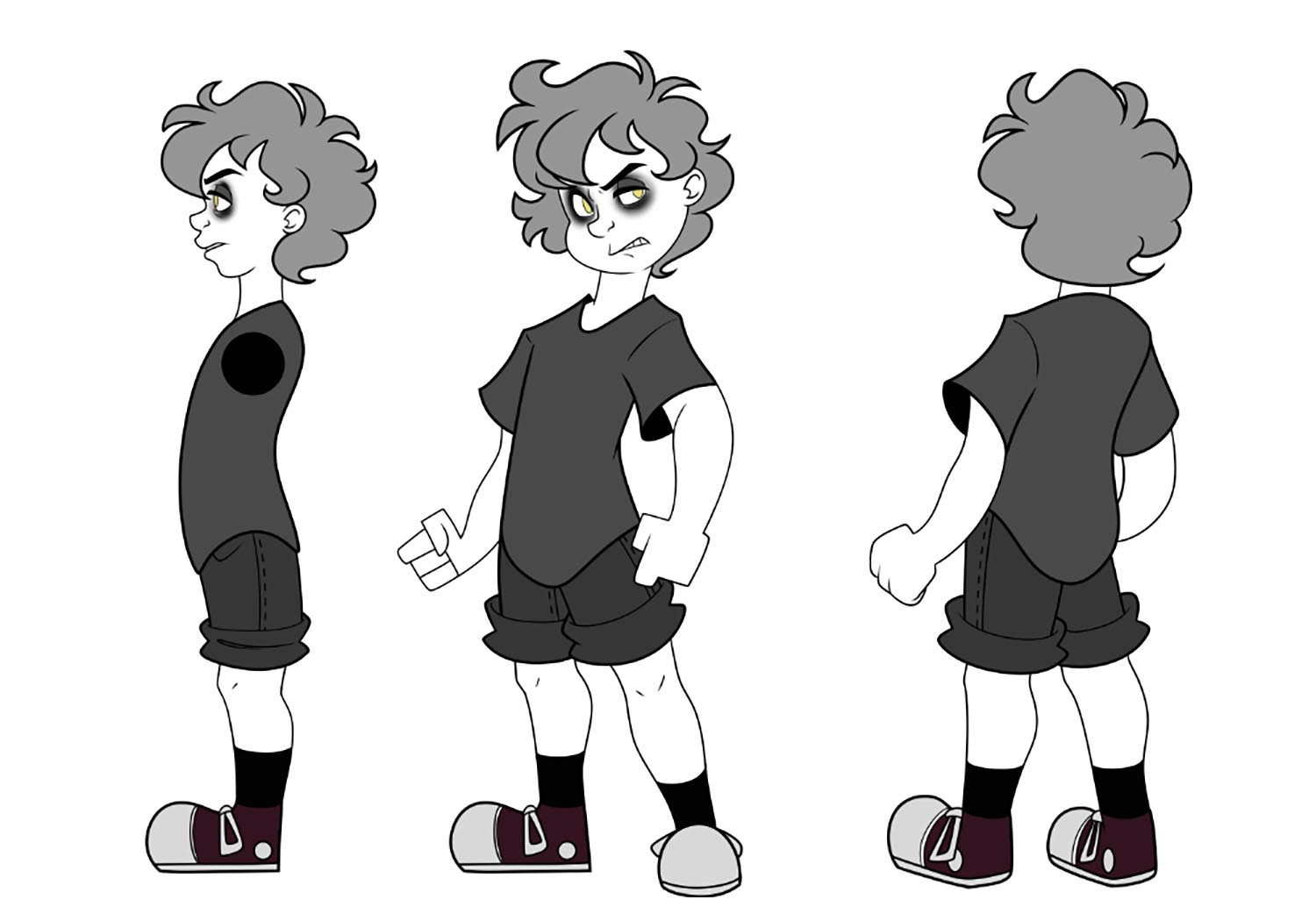 Alex is the main character along with Richard the Rose Parasite.