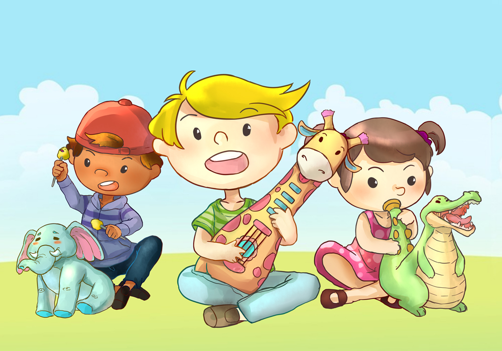 Musician Friends the soft pals that help develop hearing, edify taste and improve perceptual quality