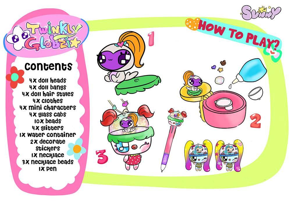 Twinkly Globzi - DIY Toy