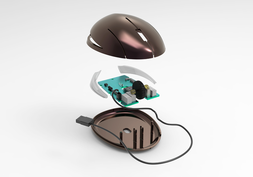 Redesign of a computer mouse