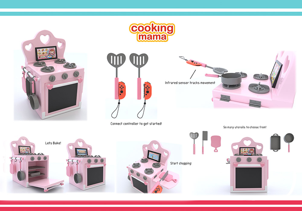 Cooking Mama Game Console