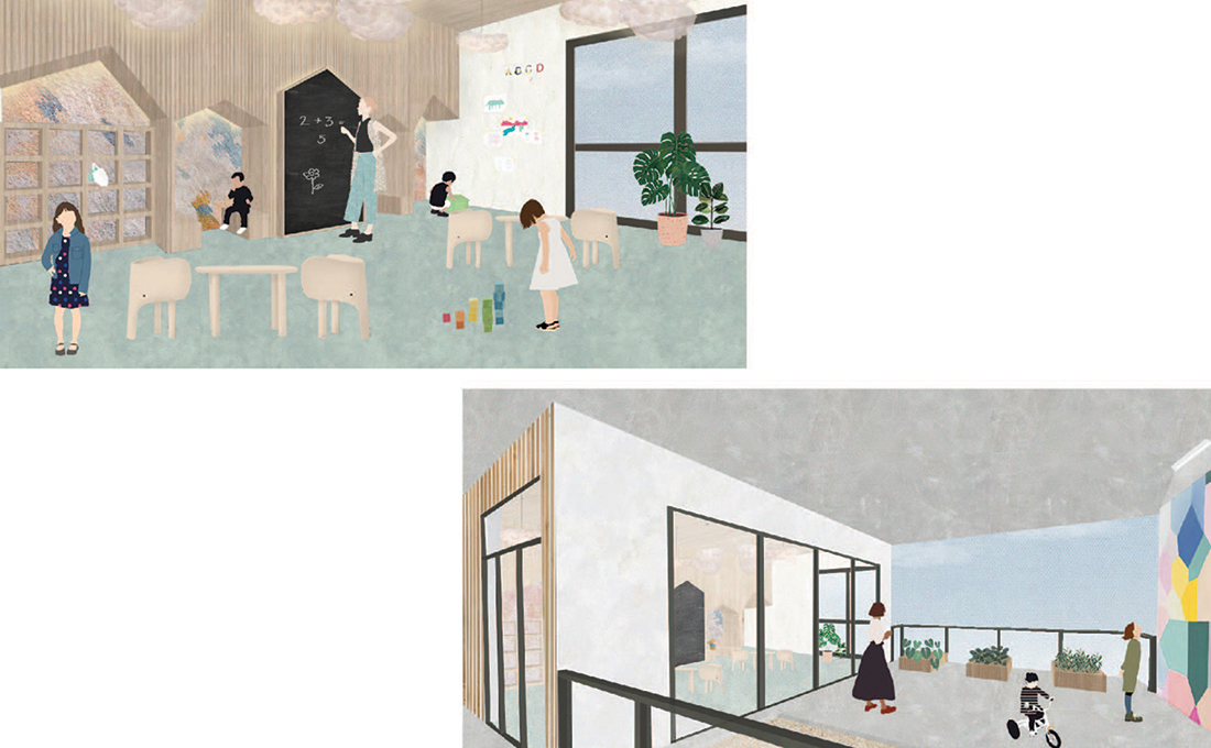 DTLA Elementary School KIndergarten Classroom - Interior Views