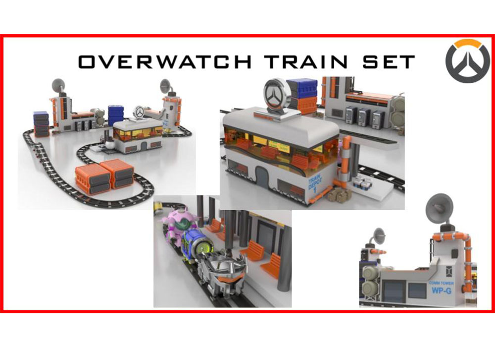 The Overwatch Train Set is the amazing train set that is based on the video game Overwatch