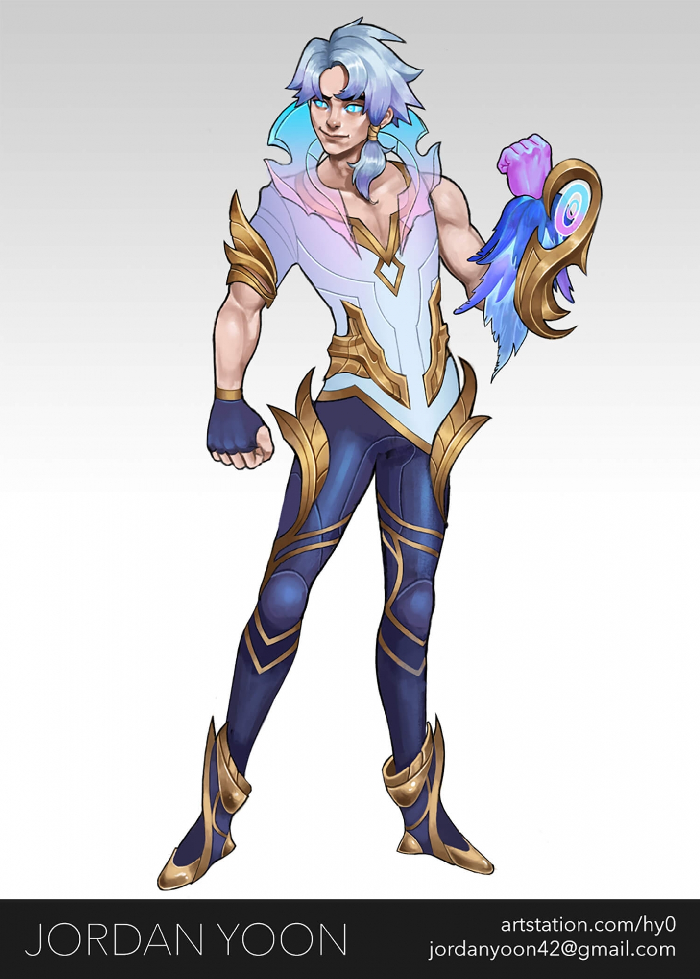 Fan-made skin design for existing League of Legends character.