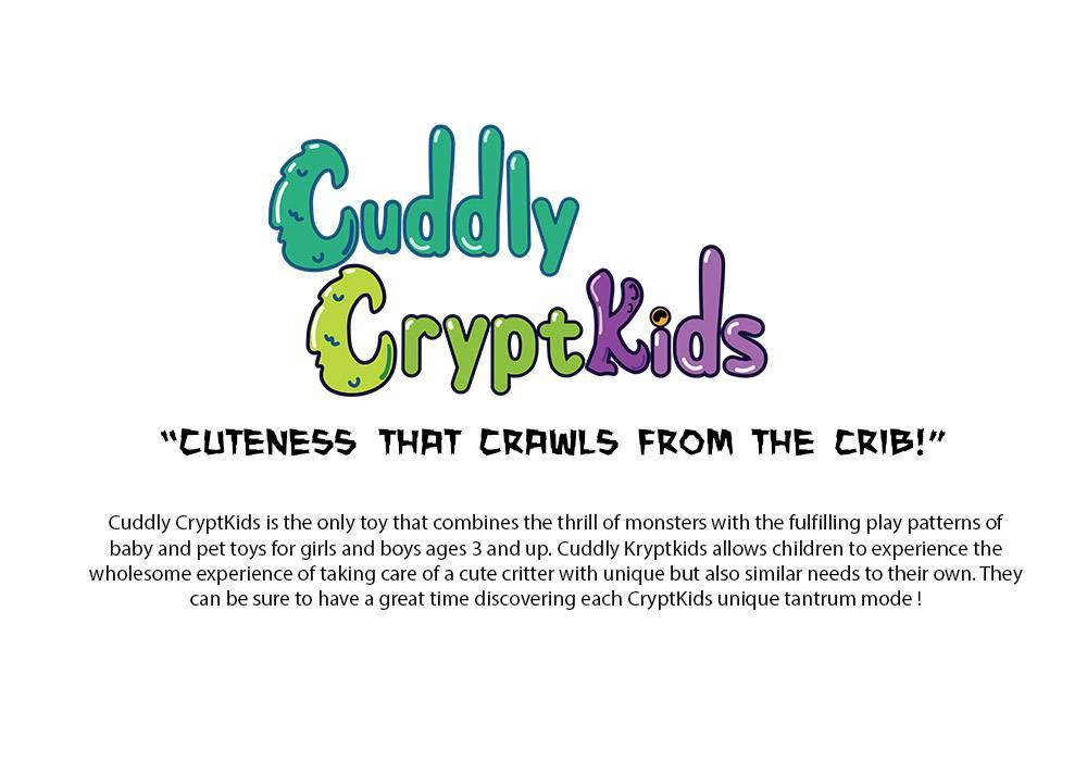 Cuddly Kryptkids positioning statement
