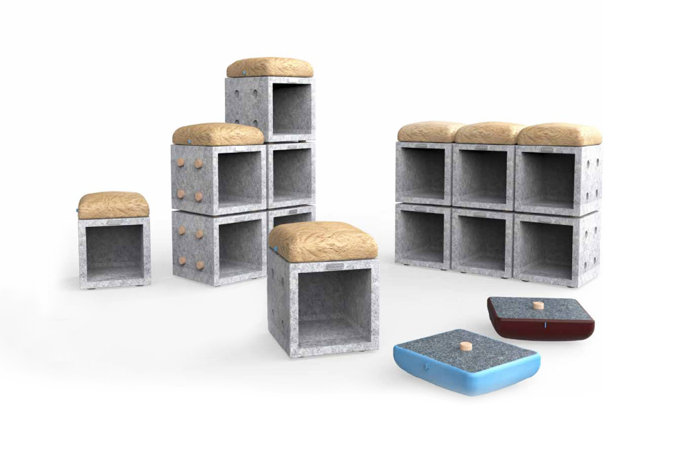 SHRED - Multifunctional Furniture System
