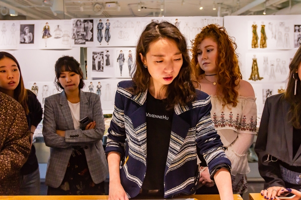 Vivienne Hu mentors Otis College Fashion Design students