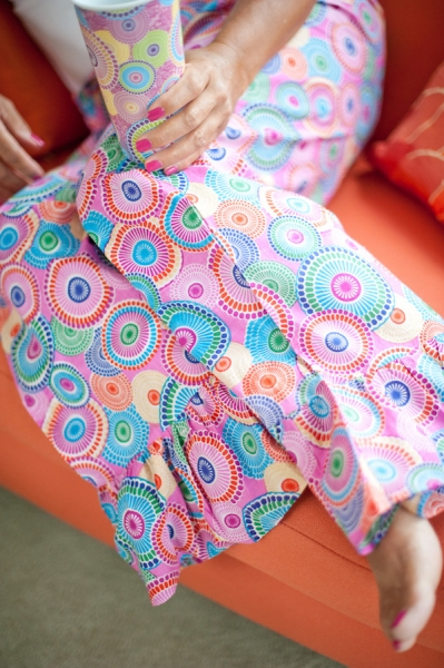 Fashion apparel with designs by Debra Valencia