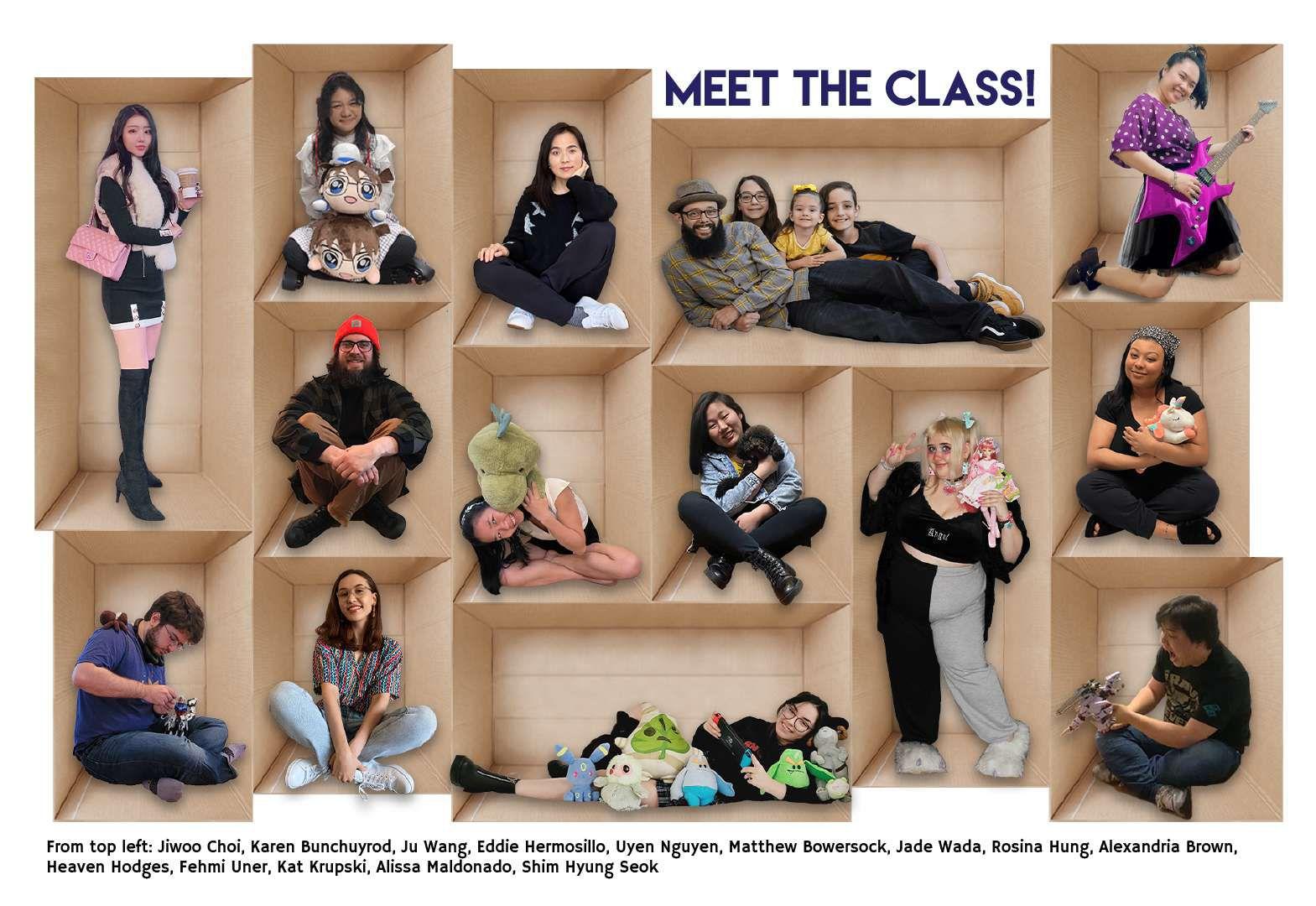 Toy Design Graduating Class 2021