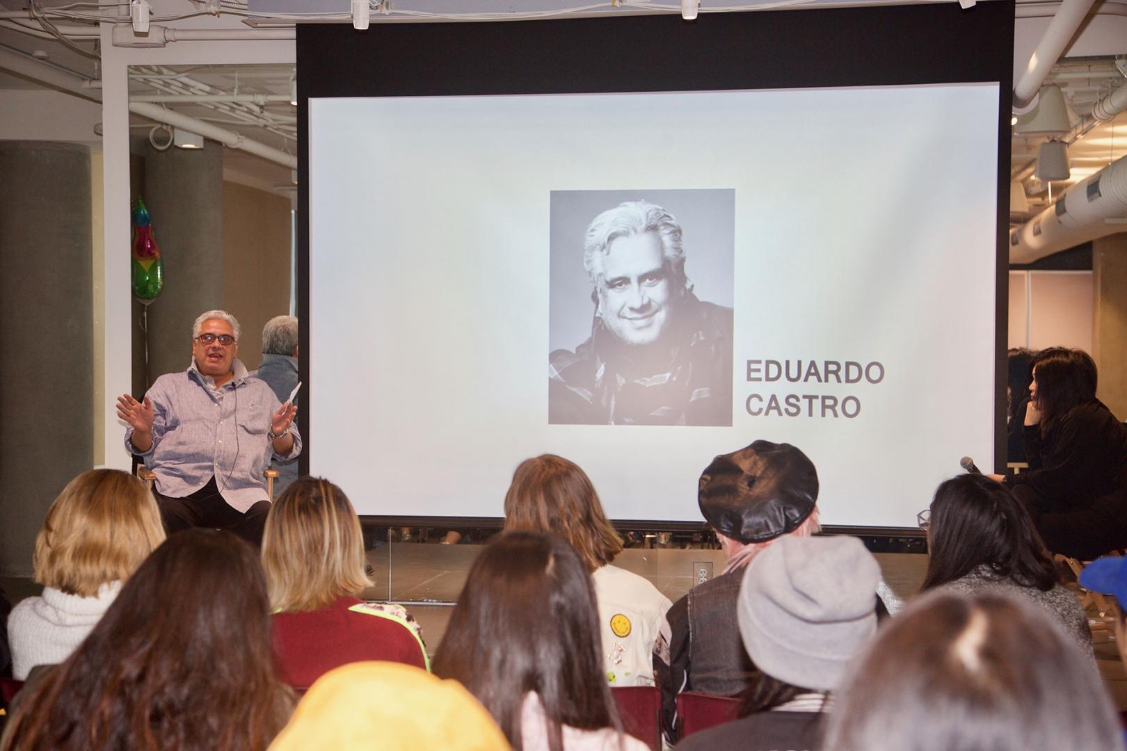 Sr. Mentor Eduardo Castro Costume Designer Spring 2019 Direction