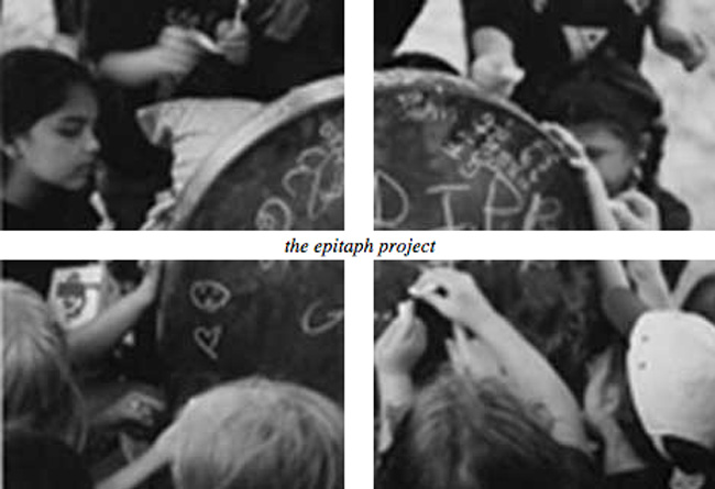 the epitaph project: 1995 - A multimedia installation by Joyce Burstein