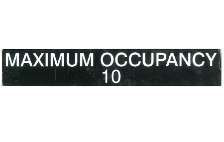 Fine Arts Annual Exhibiton 2014 Maximum Occupancy