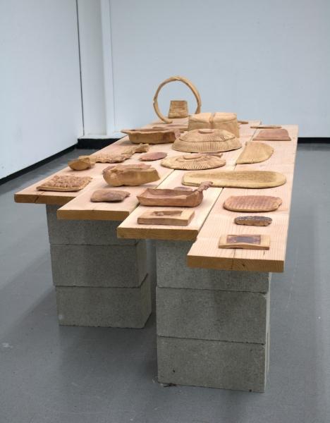 "Benson's award-winning ""indexing"" sculptures"