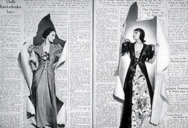 Spread from Harper's Bazaar, June 1938