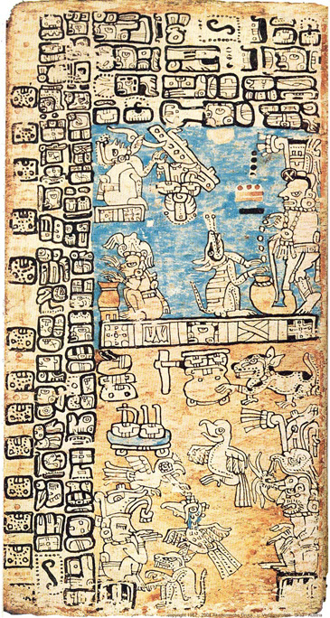 Madrid Codex page 37