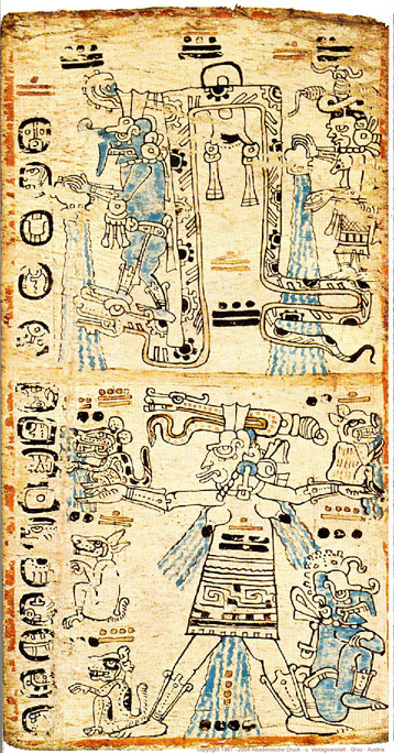 Madrid Codex page 30
