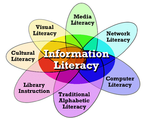 difference between computer literacy and information literacy