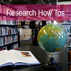 Research, How Tos, Information Literacy